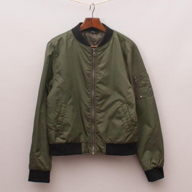 Rebel Green Bomber Jacket