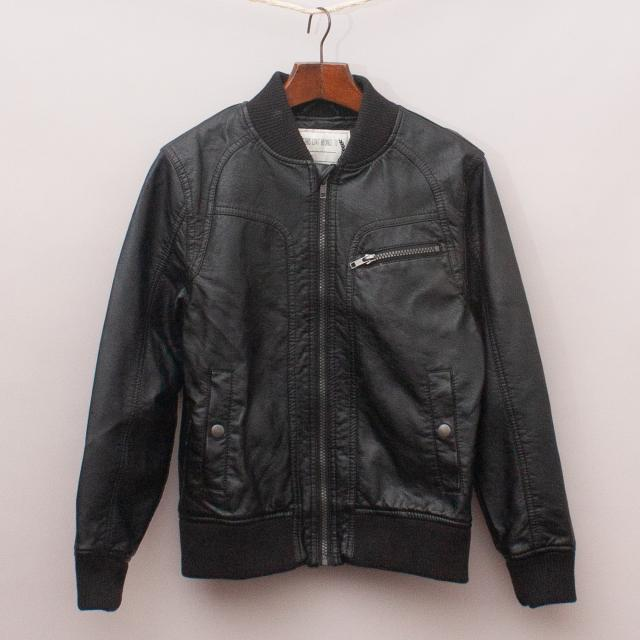 M&S Faux Leather Jacket