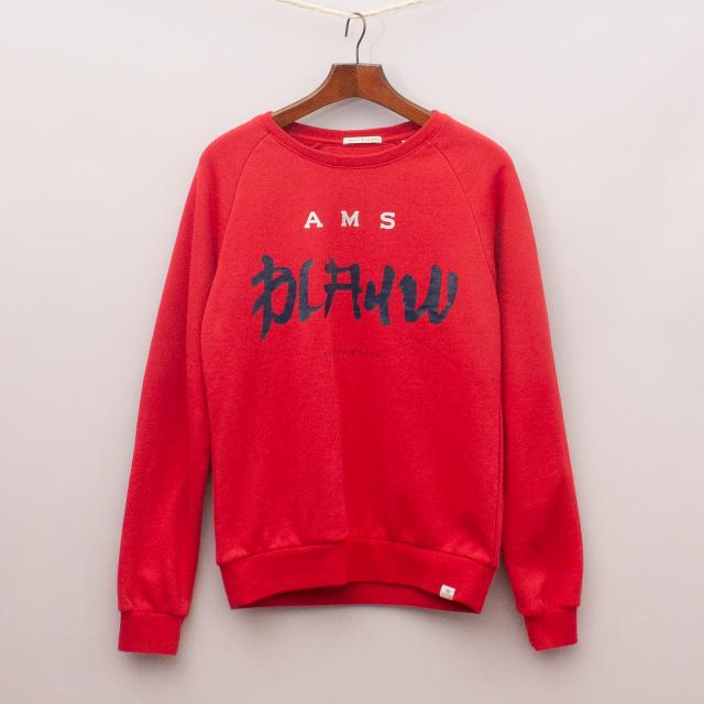 Scotch & Soda Red Jumper