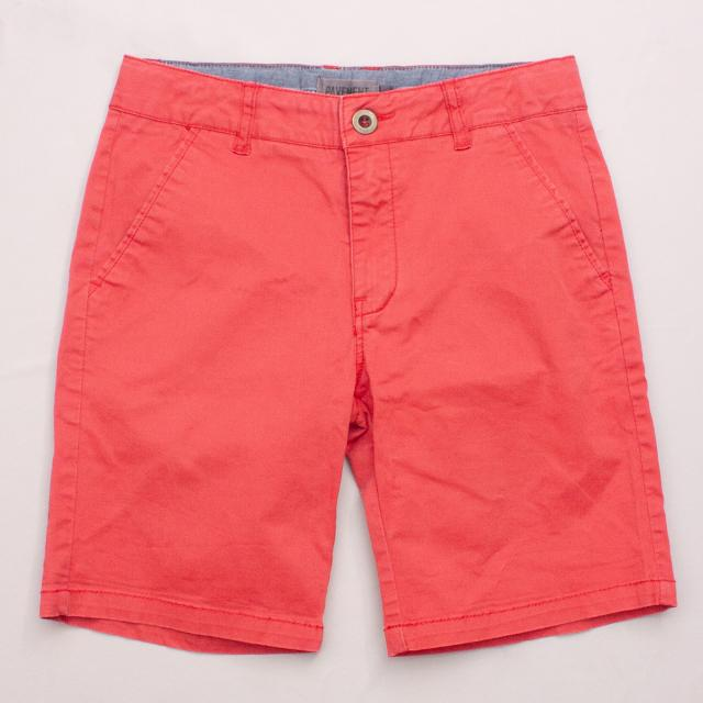 Pavement Red Shorts
