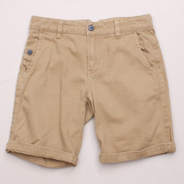 Gumboots Brown Shorts