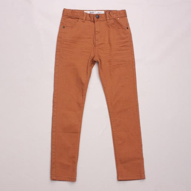 Denim Co. Brown Jeans