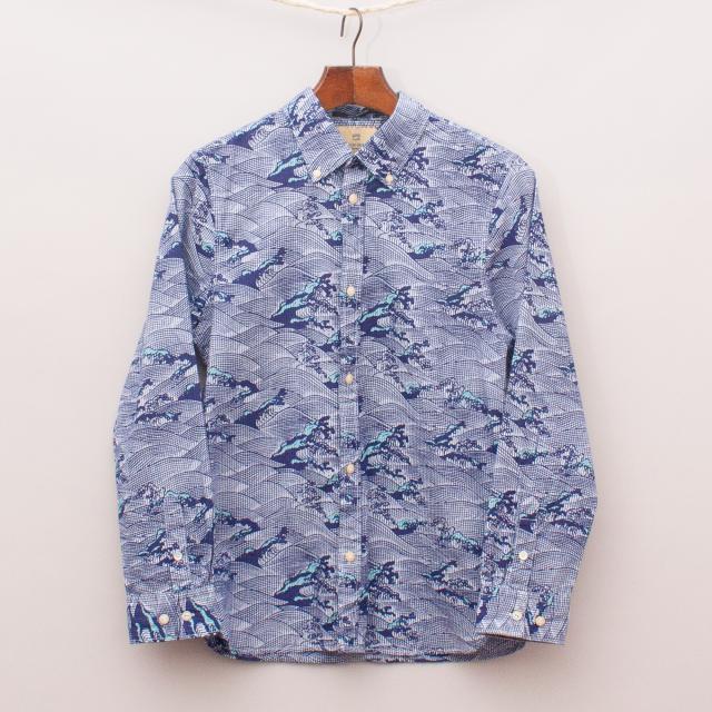 Scotch Shrunk Waves Shirt