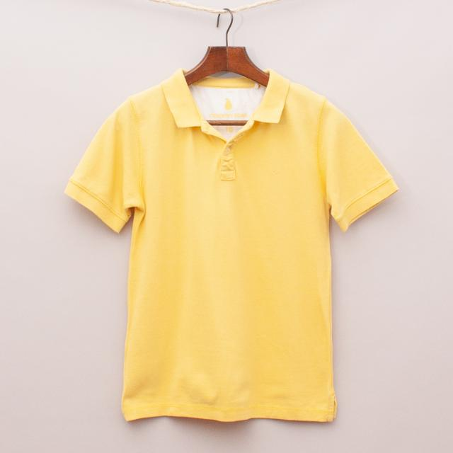 Country Road Yellow Polo Shirt