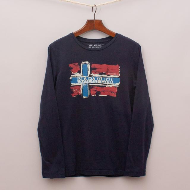 Napapijri Flag Long Sleeve