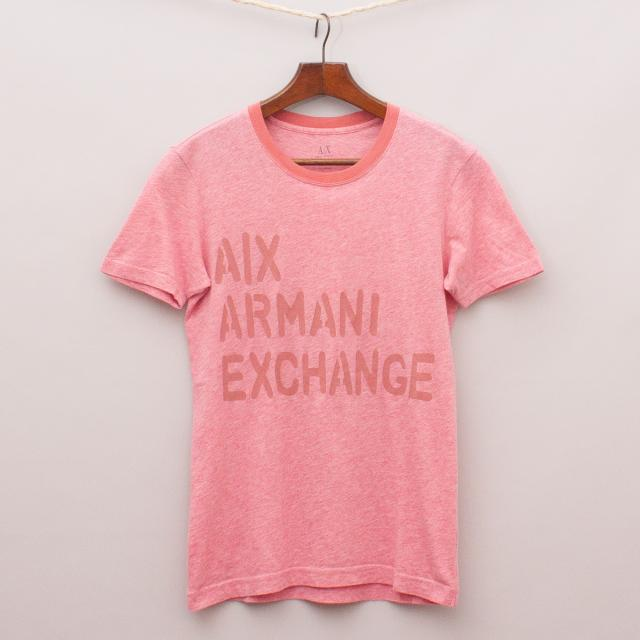 Armani Exchange Printed T-Shirt