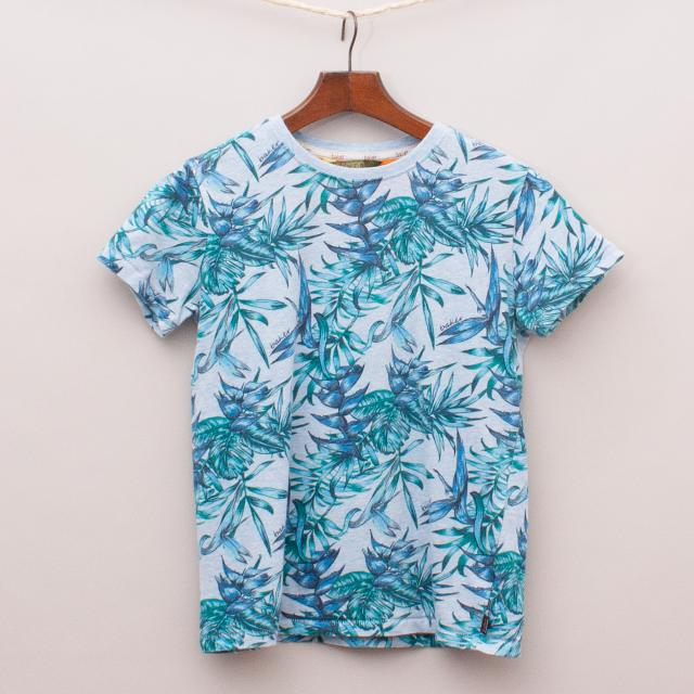 Ted Baker Tropical Leaves T-Shirt