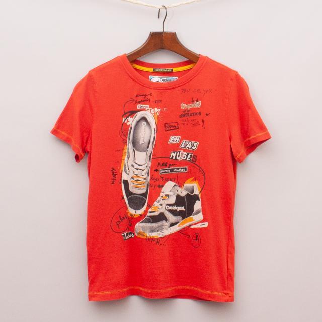 Desigual Sneaker T-Shirt