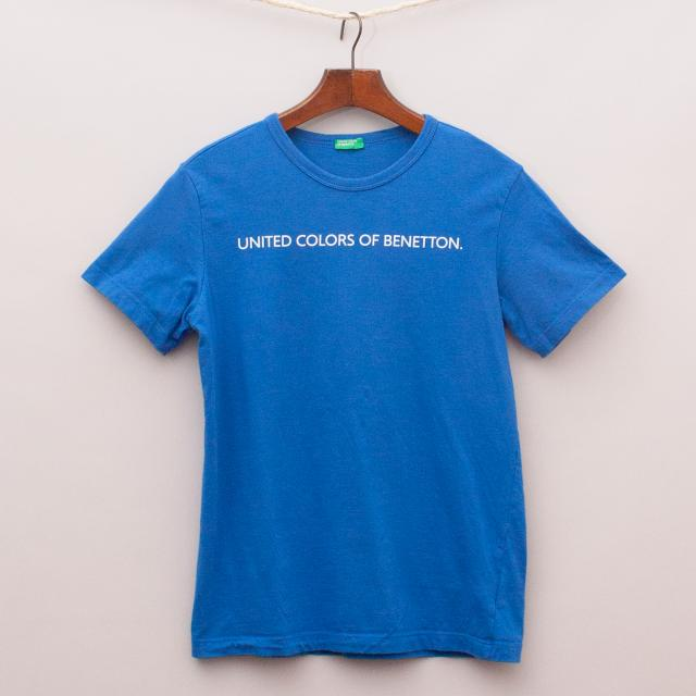 United Colours of Benetton Blue T-Shirt