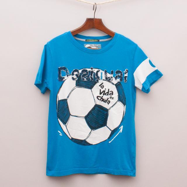 Desigual Soccer T-Shirt