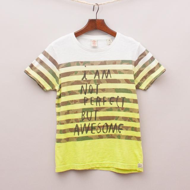 Scotch Shrunk Striped T-Shirt