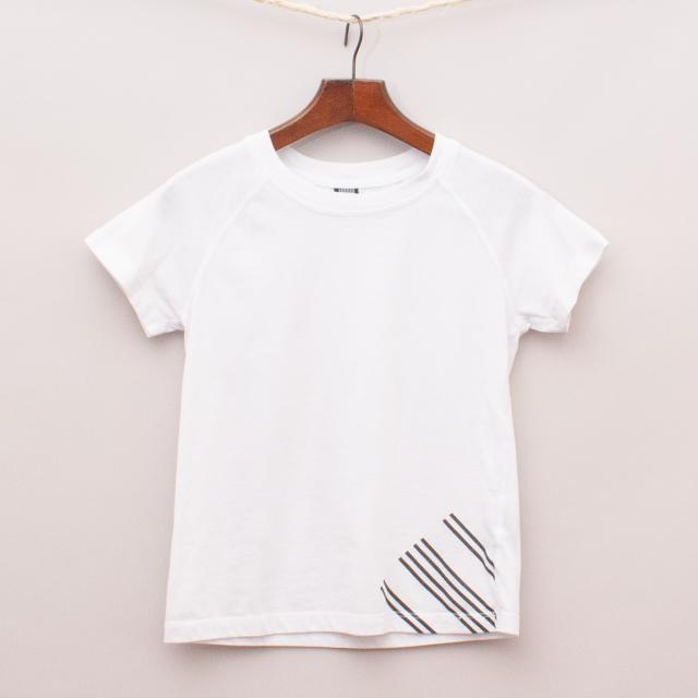 Jagged White T-Shirt