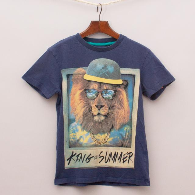 Blue Zoo Lion T-Shirt
