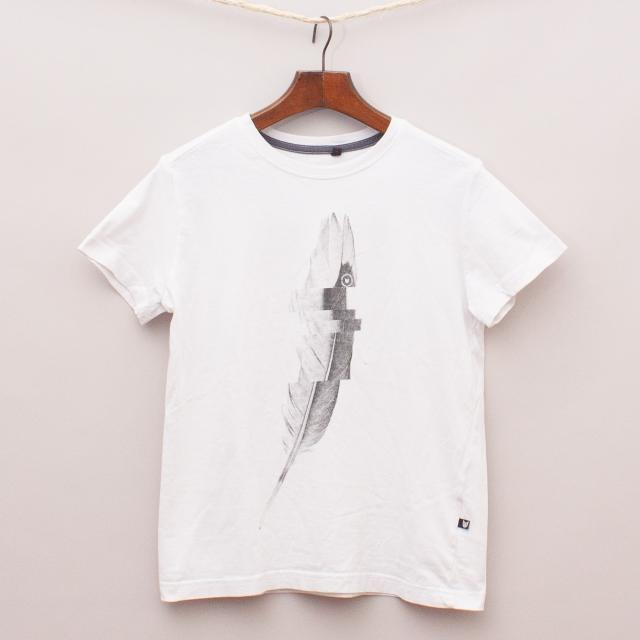 Bauhaus Feather T-Shirt