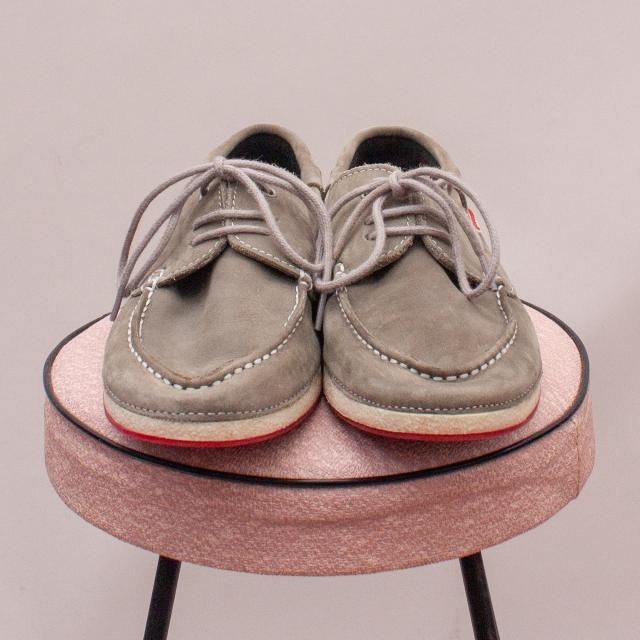 Garvalin Leather Boat Shoes - EU 36