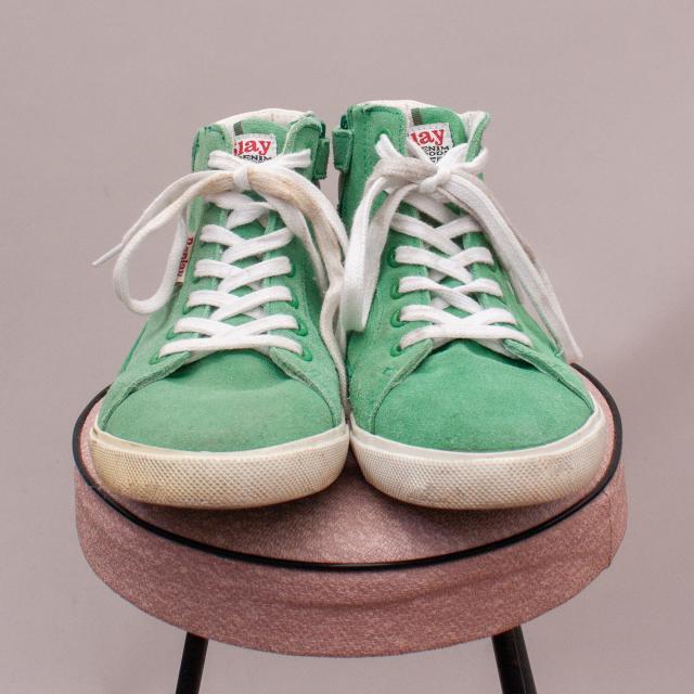 Replay Green Sneakers - EU 37