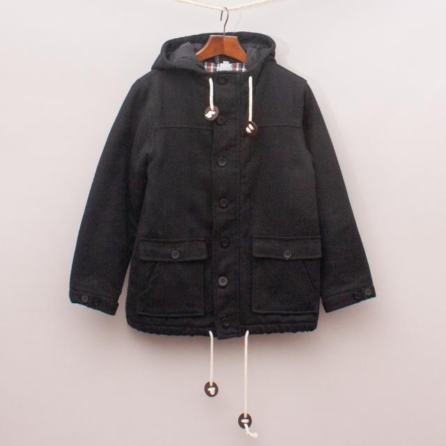Fred Bare Black Coat