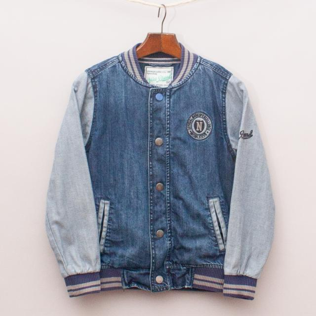 Next Denim Bomber Jacket