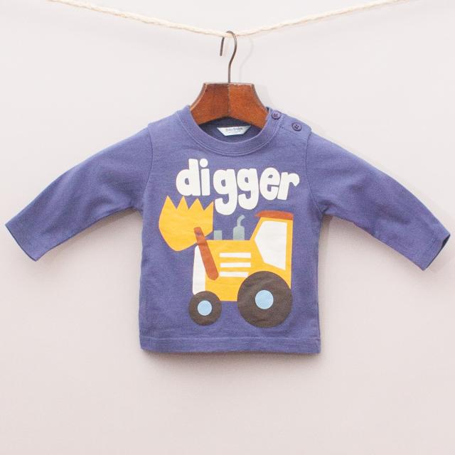Baby Boden Digger Long Sleeve
