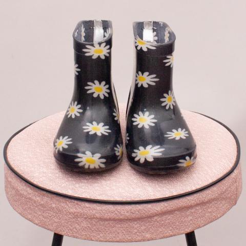 Emerson Flower Gumboots - AU 5