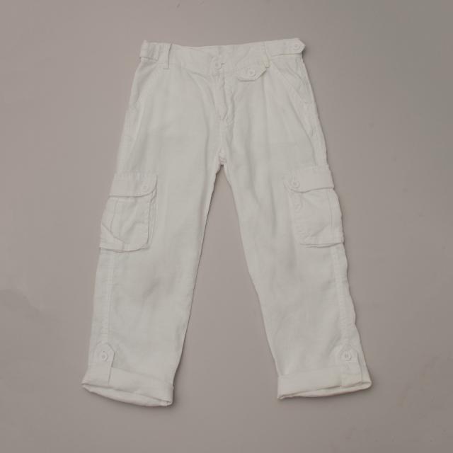 White Linen Pants