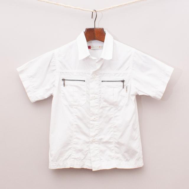 Gumboots White Shirt