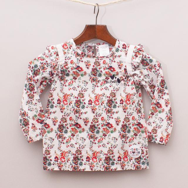 OshKosh Floral Shirt
