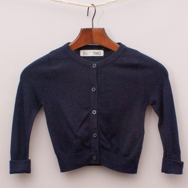 Cotton On Blue Cardigan