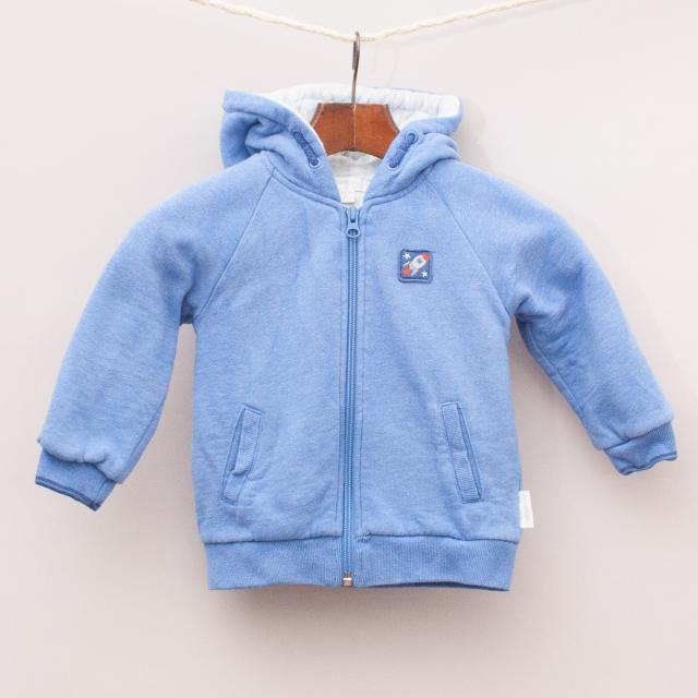 Purebaby Hooded Jumper