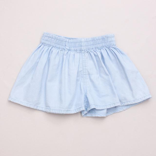 Cotton On Chambray Shorts
