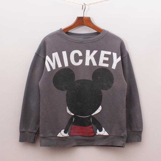 Zara Mickey Mouse Jumper