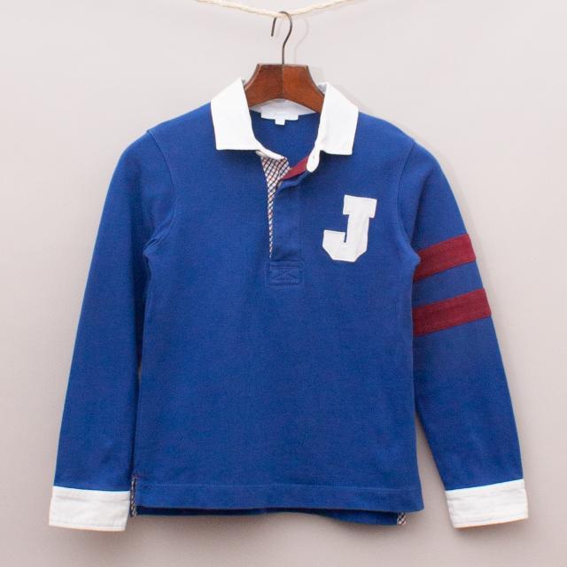 Jacadi Blue Rugby Jumper