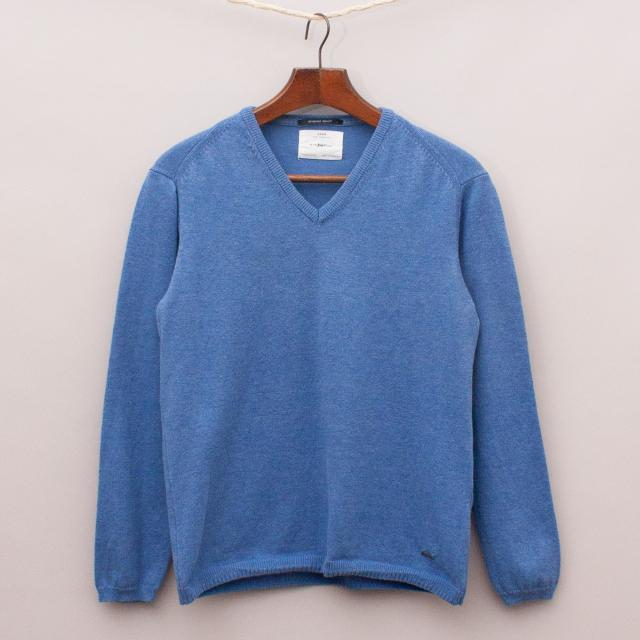 Zara Blue Knit Jumper