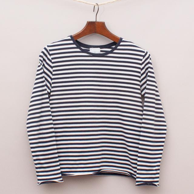 Witchery Striped Long Sleeve