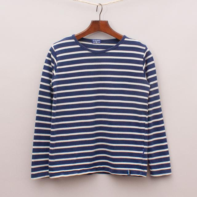 Claesens Striped Long Sleeve
