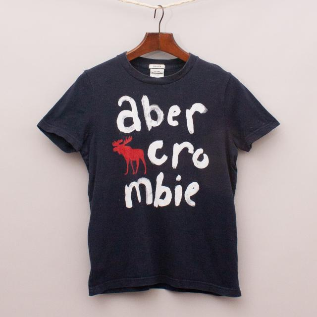 Abercrombie Navy T-Shirt