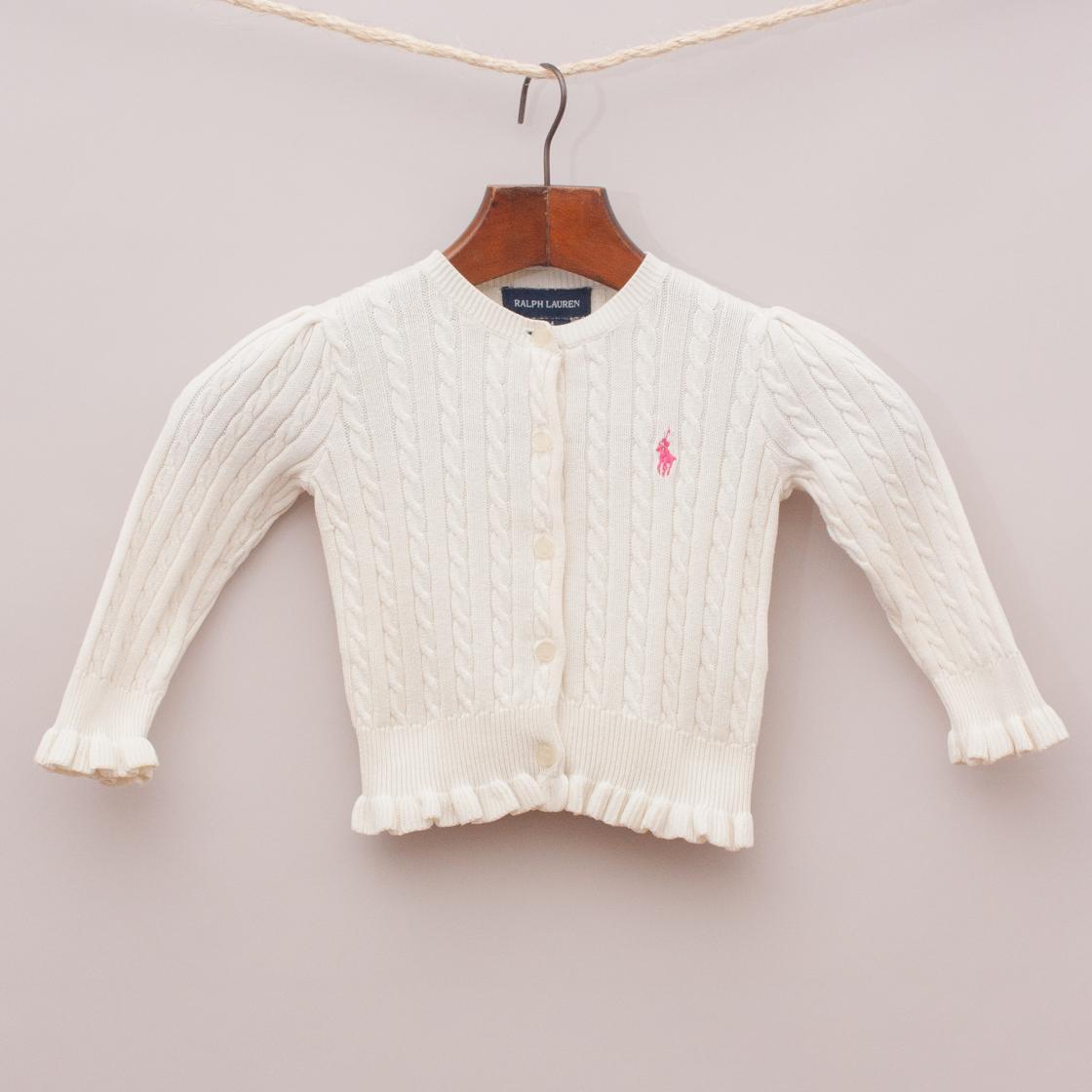 Ralph Lauren Cable Knit Cardigan