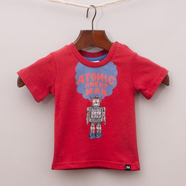 "Milky Robot T-Shirt ""Brand New"""