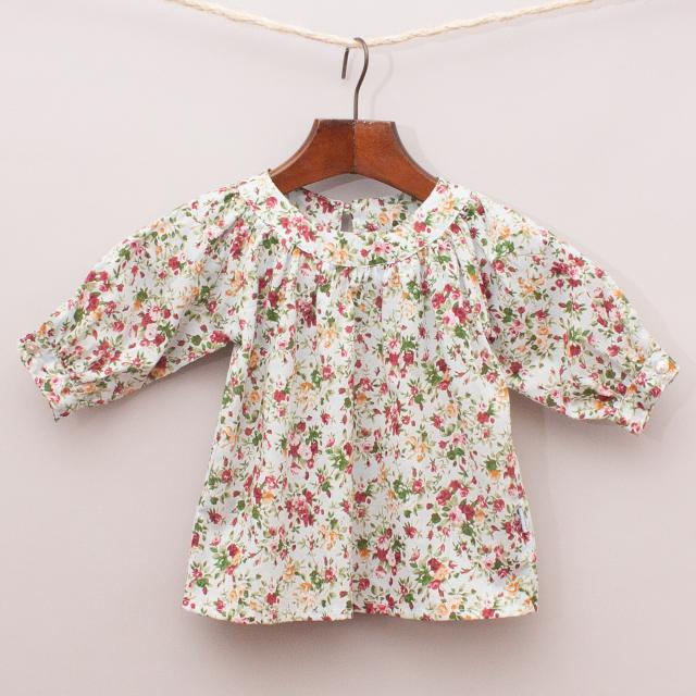 "Daisy & Moose Floral Smock ""Brand New"""