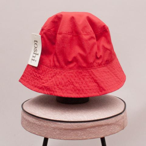 "Toshi Red Bucket Hat ""Brand New"" - M"