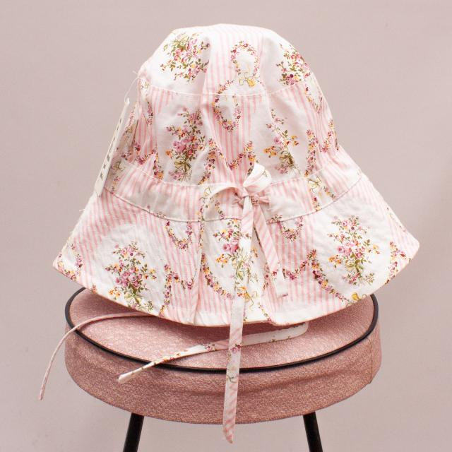 """Toshi Floral Bucket Hat """"Brand New"""" - L"""