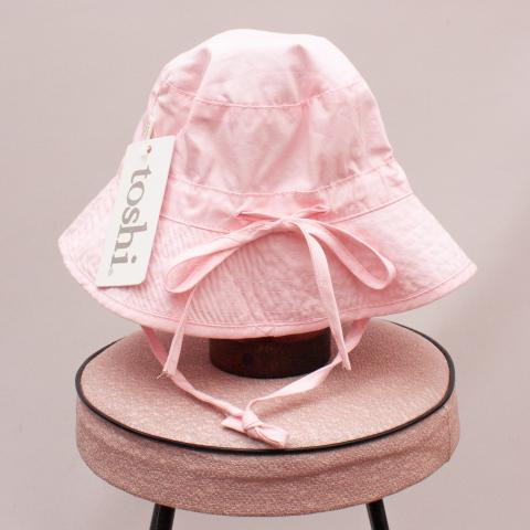 "Toshi Pink Bucket Hat ""Brand New"" - S"