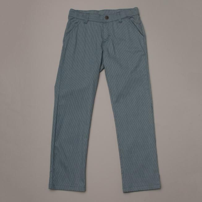 Light Blue Pin Stripe Trousers