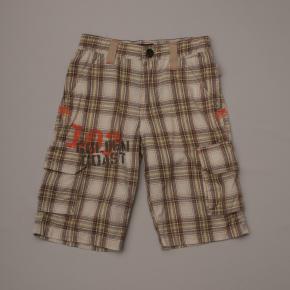 Plaid Cargo Style Shorts