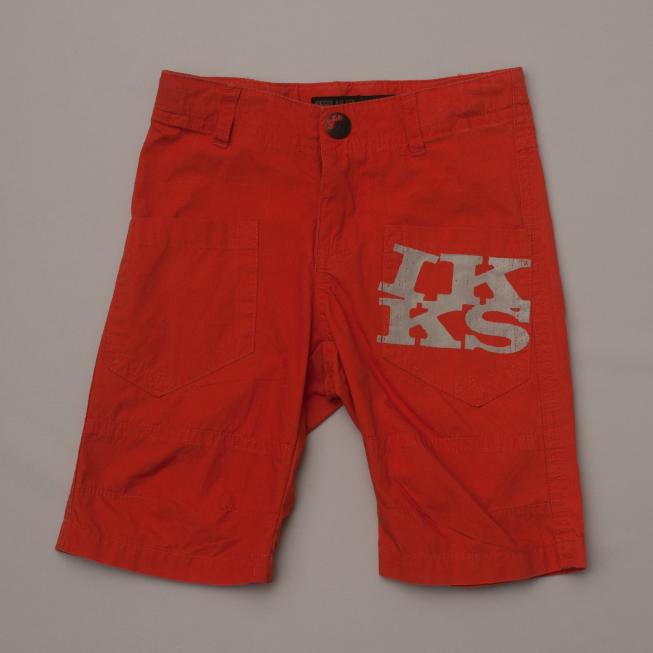 Burnt Oramge Shorts