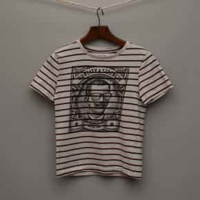Grey Marle Stripe T-Shirt