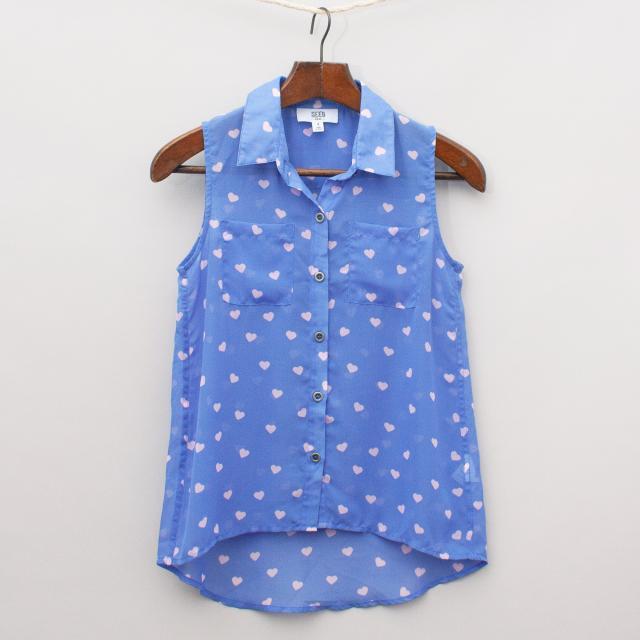 Seed Sheer Heart Shirt