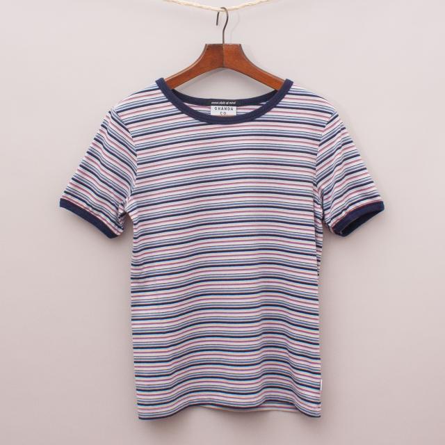 Ghanda Striped T-Shirt
