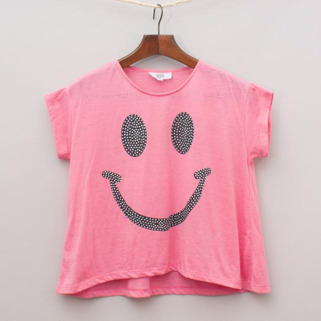 Seed Smiley Face T-Shirt