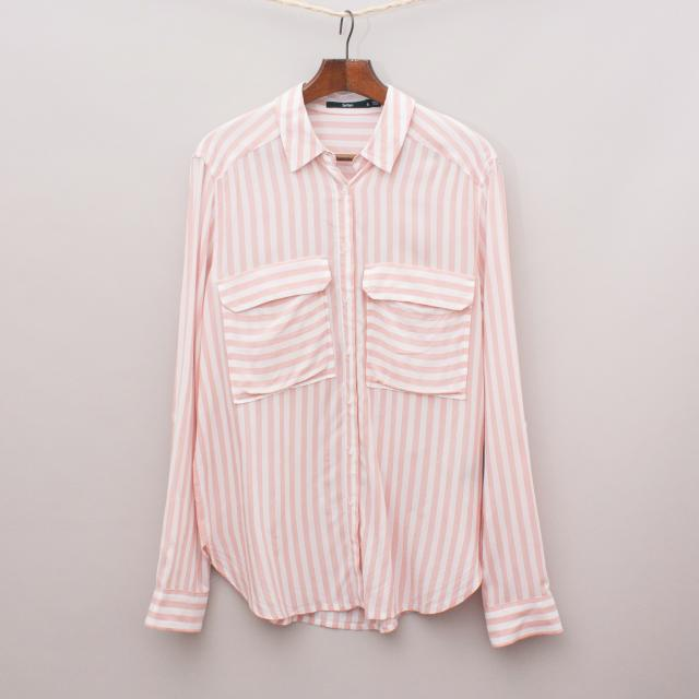 Sportsgirl Striped Shirt